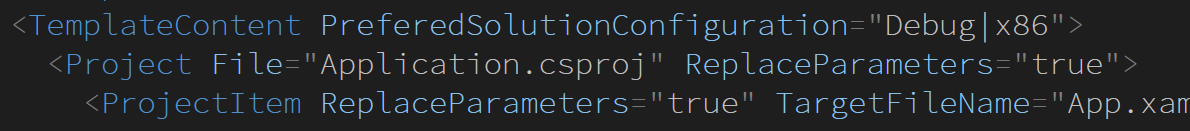 Visual Studio 自定义项目模板-芊雅企服