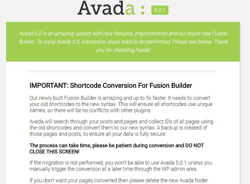 2222 Avada v5.0.1震撼发布响应式建站神器重大版本更新