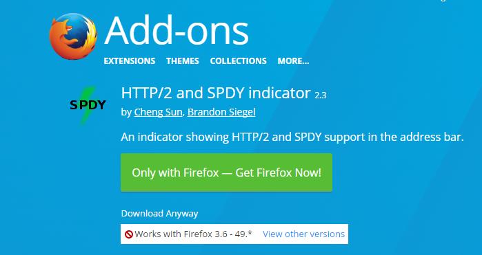 3 如何查看https网站是否启用了HTTP/2或SPDY?