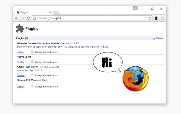 Firefox 使用 Chrome 浏览器的 PDF 和 Flash 插件-芊雅企服