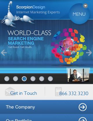 m1 分享几个经典的手机网站设计案例