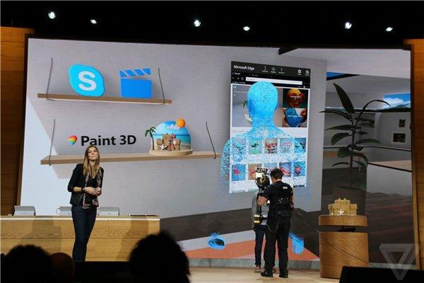 w33 Windows 10 Creators 将免费升级,人人有3D