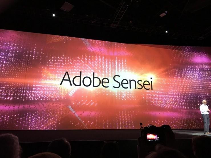 2 设计师们也要失业?Adobe 发布 Sensei AI 平台