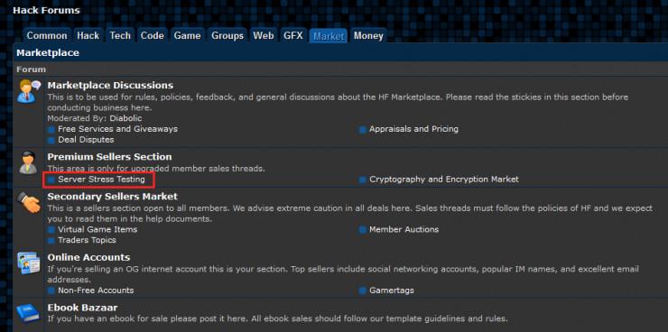 """d 造成美国断网的""""凶手论坛""""终于关闭了 DDoS 版块"""