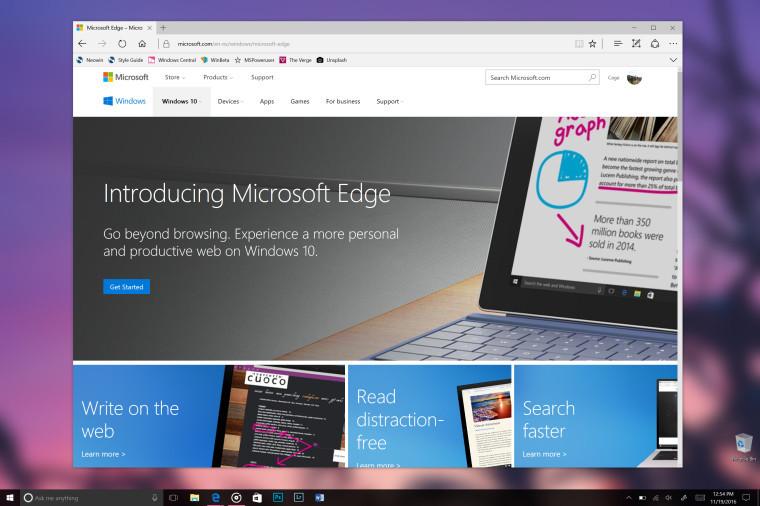 edge 微软通知Chrome和Firefox用户Edge更安全