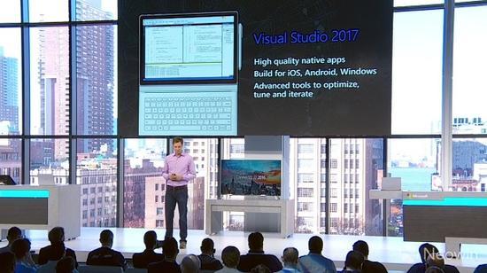vs1 微软开放 Visual Studio 2017 候选版下载