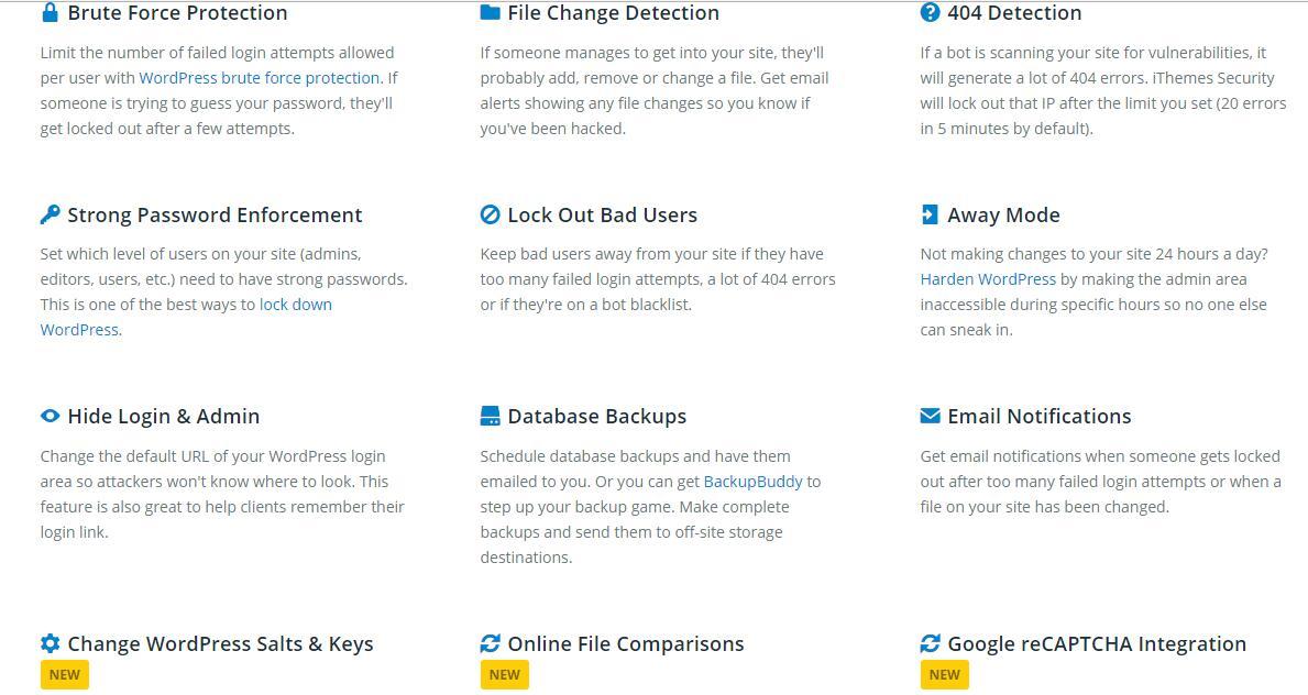 3 iThemes Security Pro v3.3.0 wp防黑安全防护插件下载