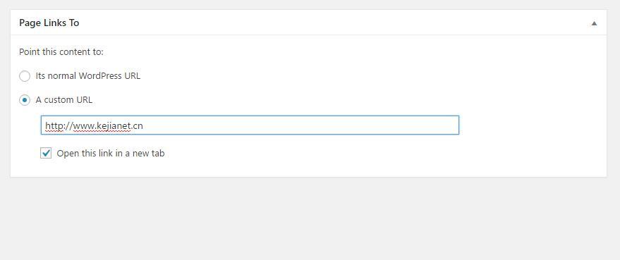 wordpress页面301重定向插件Page Links To-芊雅企服