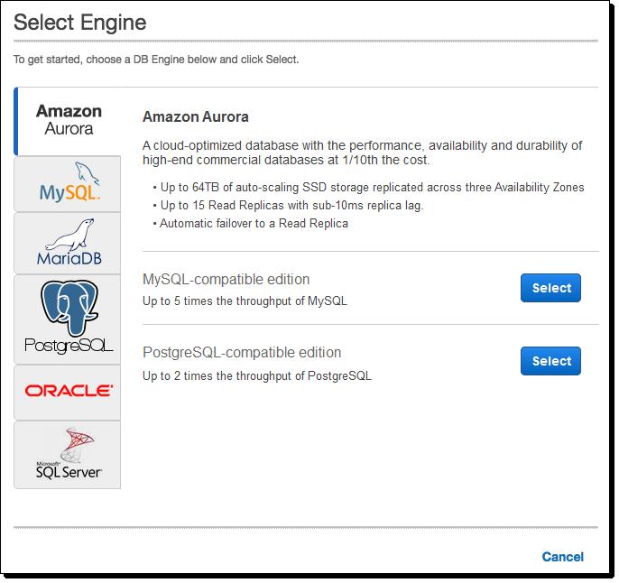4234 Amazon Aurora 升级,兼容 PostgreSQL