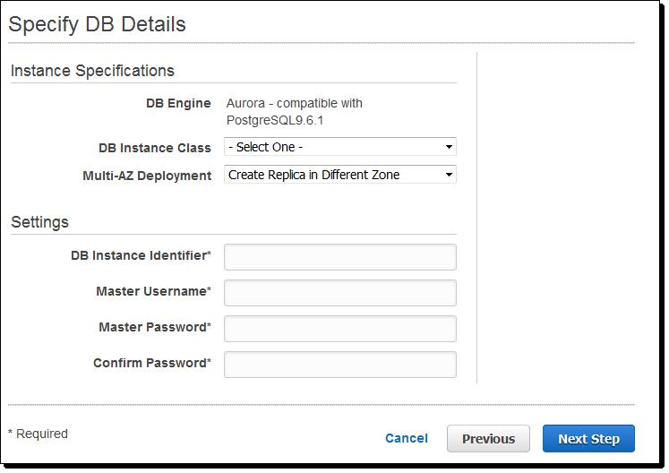 543 Amazon Aurora 升级,兼容 PostgreSQL