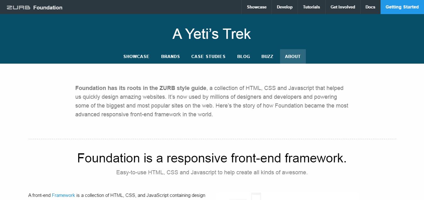 Foundation v6.3.0-rc1 发布,Web 的 UI 框架-芊雅企服