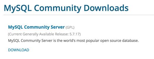 MySQL 社区版 5.7.17 发布 数据库服务器-芊雅企服