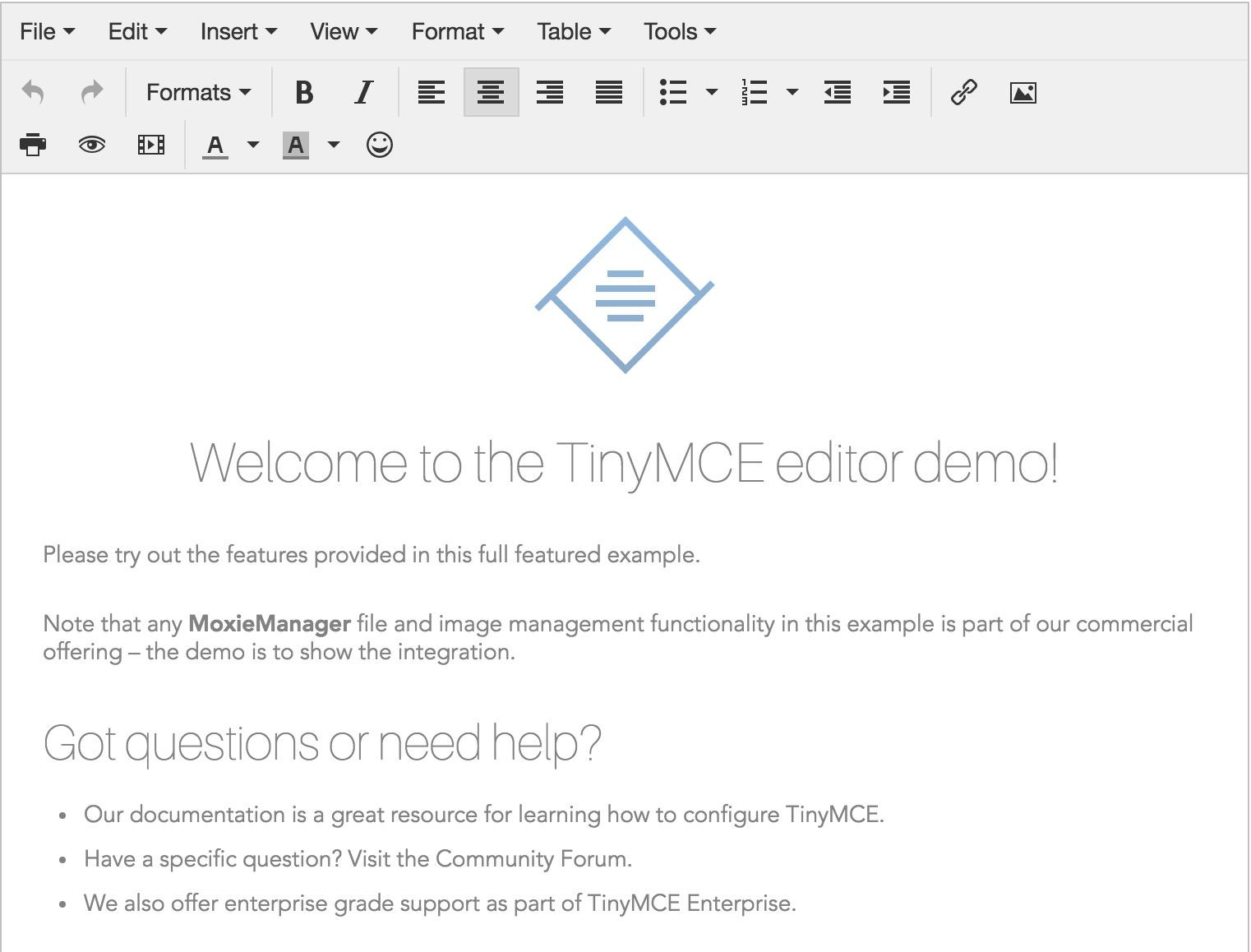 TinyMCE 4.5.1 发布,所见即所得 HTML 编辑器-芊雅企服