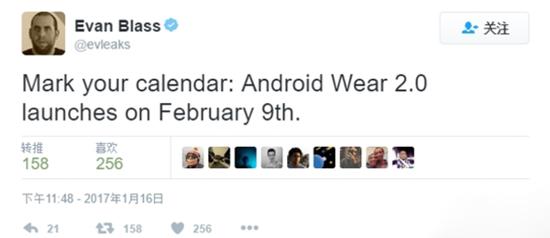 221 Android Wear 2.0 下月登场 支持应用独立运行