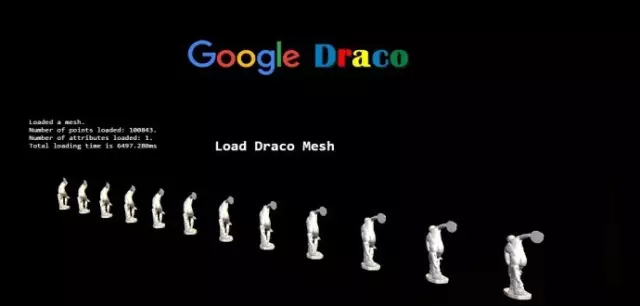 """谷歌发布 3D 图形开源压缩库:""""Draco""""-芊雅企服"""