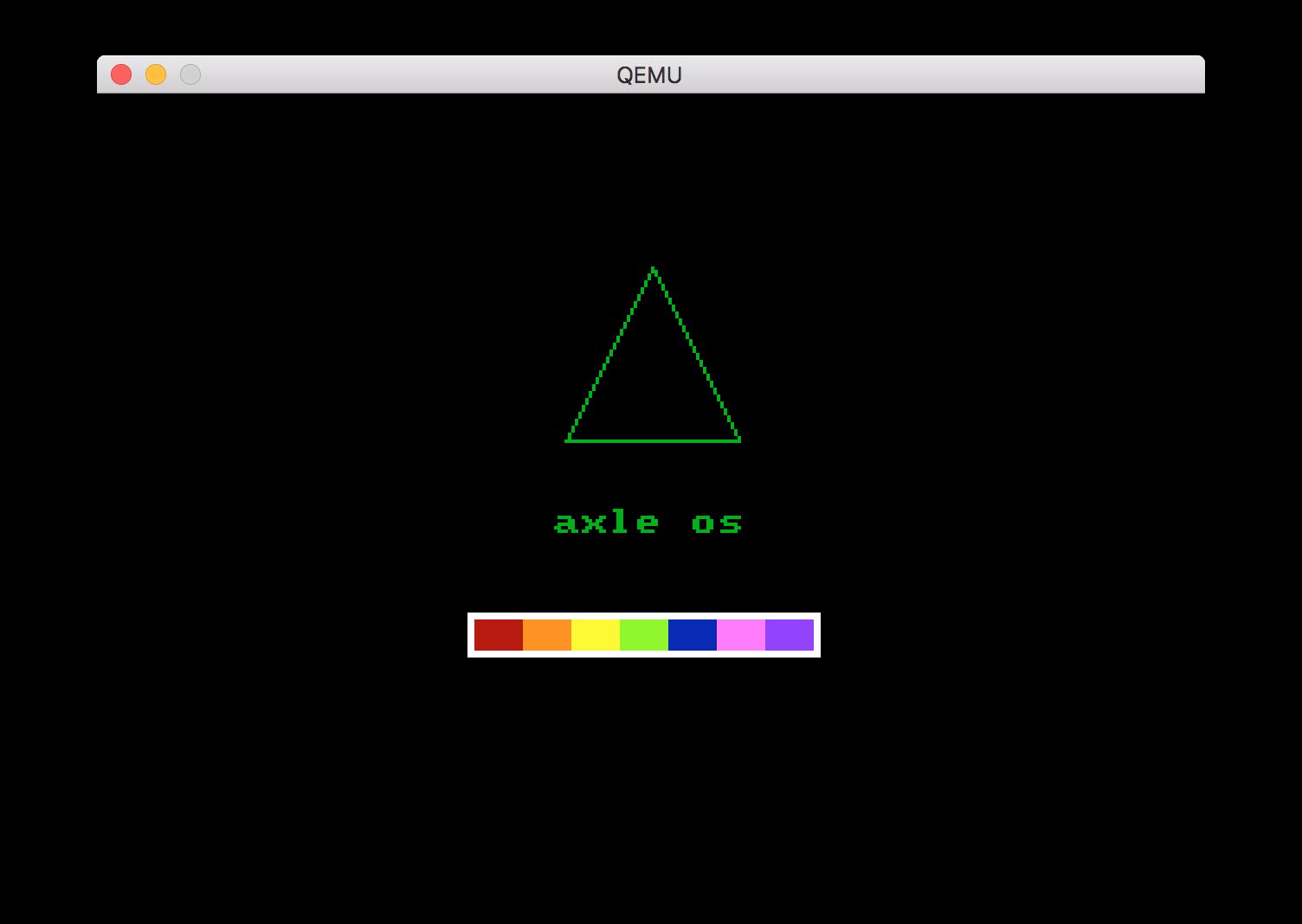 axle 类 UNIX 操作系统 axle 发布首个公开 alpha 版