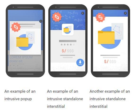 谷歌终于开始惩罚移动网站介入式的弹出式广告-芊雅企服