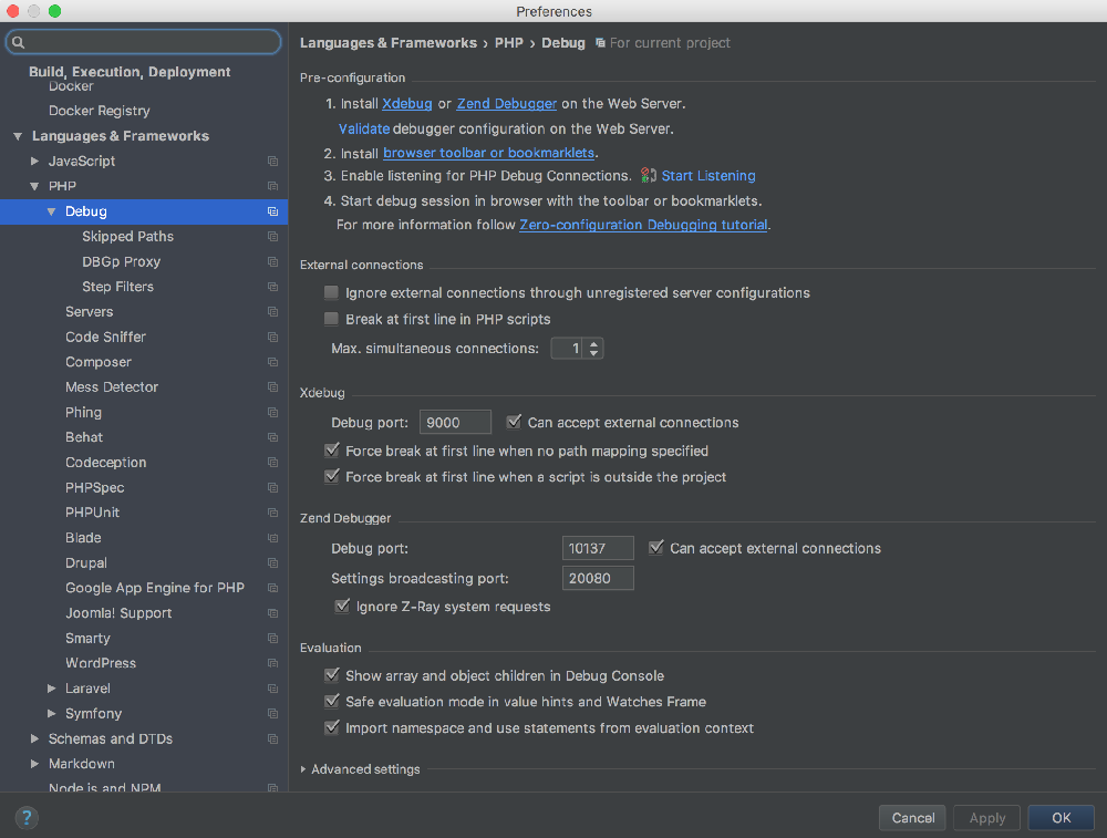 p211 PhpStorm 2017.1 EAP build (171.3224) 发布