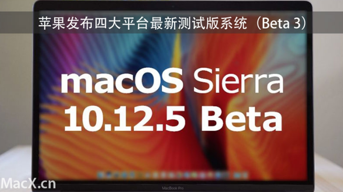 074241 qzqU 2894582 苹果发布四大平台最新测试版系统(Beta 3)