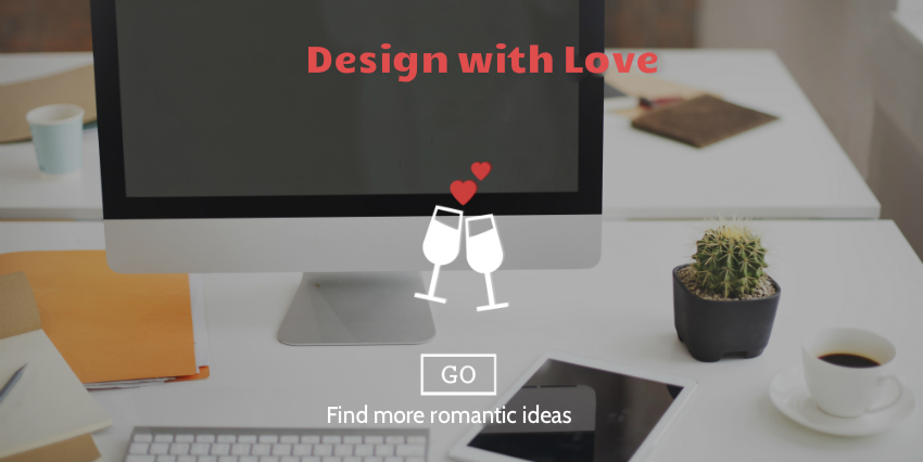 4 Things To keep in Mind While Designing Romantic Website Banners 设计浪漫的网站横幅时,请记住4件事
