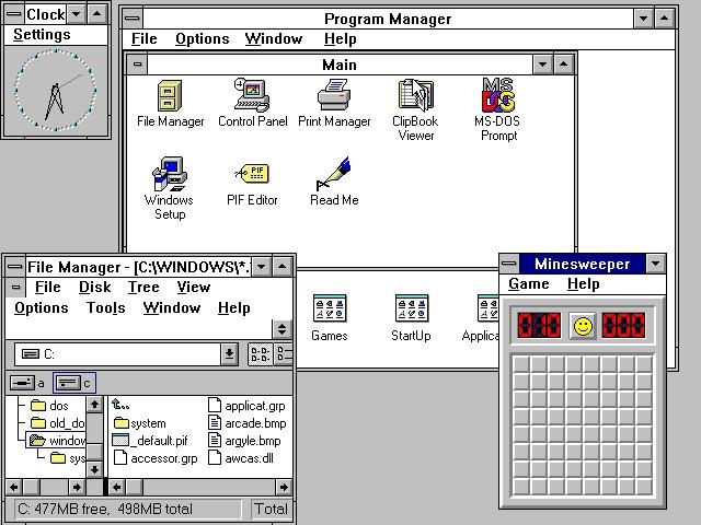 Windows 3.1 系统 25 岁了!安装需要 6 张软盘-芊雅企服