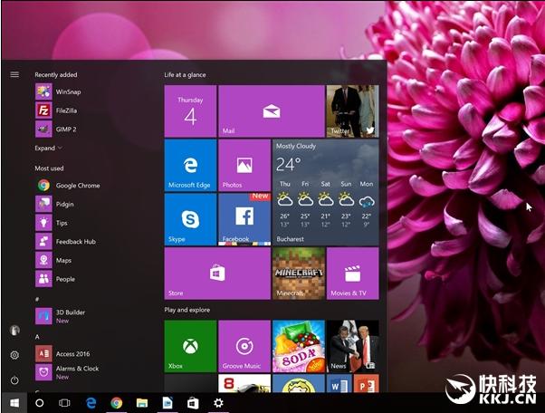 081053 5PFZ 2903254 Windows 10 新版 Build 16188 发布:Edge 瞬间强大了