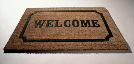 Welcome mat Landing Page  使您的网站成为更好的销售人员