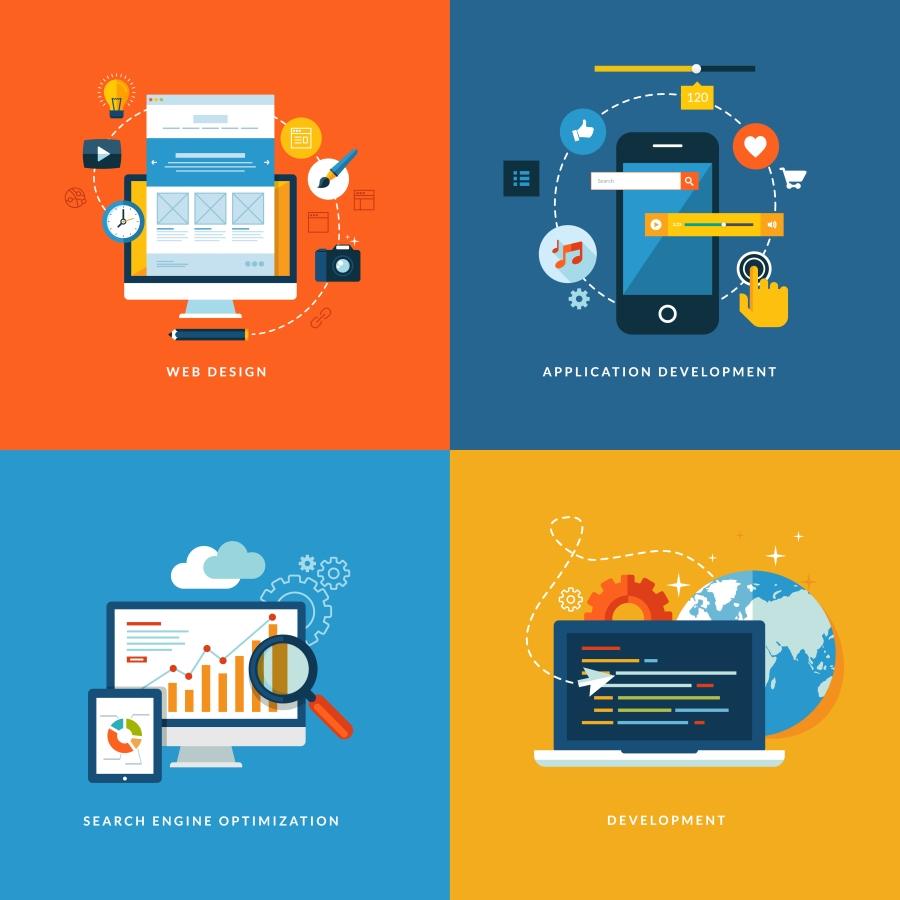 """design development 团队统一   我们的网络开发团队如何""""最""""和""""最好""""的技术支持"""