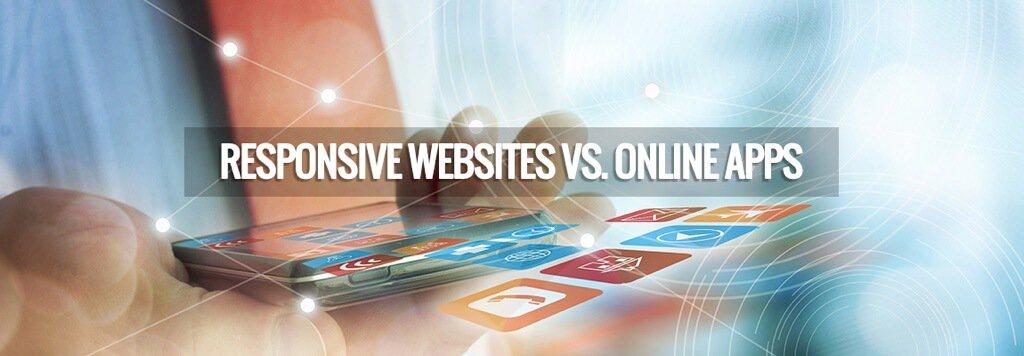 responsive websites vs online apps 响应式网站与移动应用程序有什么区别