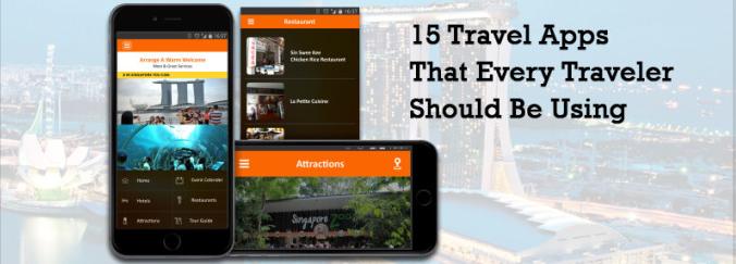 lvxing 15种旅行者应该使用的旅行应用程序