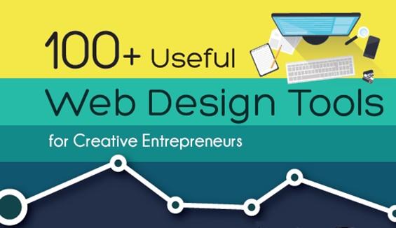 useful 100多个创意企业家有用的网页设计工具