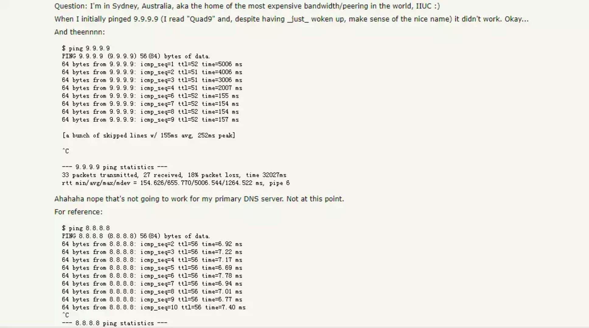 IBM 推出新 DNS 服务(9.9.9.9),谷歌(8.8.8.8)要哭了……-芊雅企服