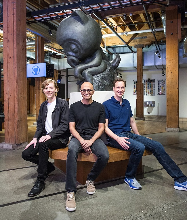 1 微软宣布以 75 亿美元收购 GitHub