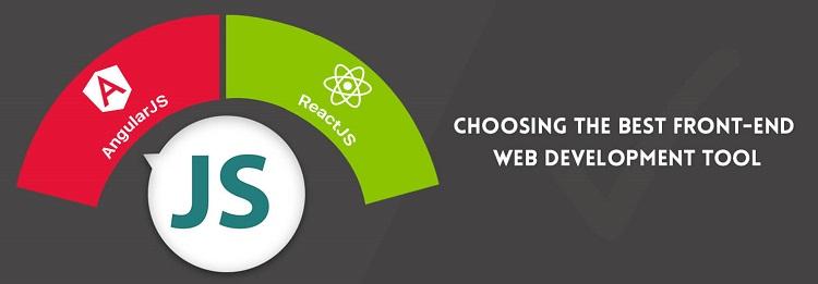 1D7 0 选择最佳的前端Web开发工具:AngularJS Vs ReactJS