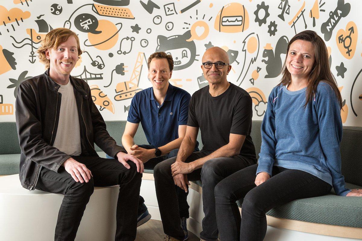 2 微软宣布以 75 亿美元收购 GitHub