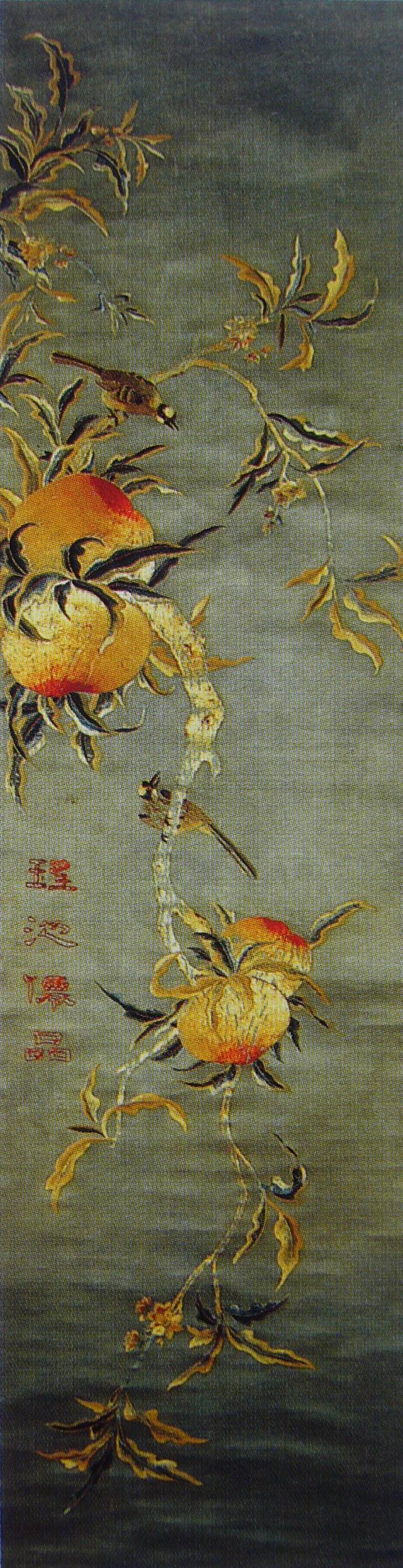 图1 4 5 2 清 苏绣《瑶池仙品》·中国苏绣艺术博物馆藏 认识真正的四大名绣:苏绣