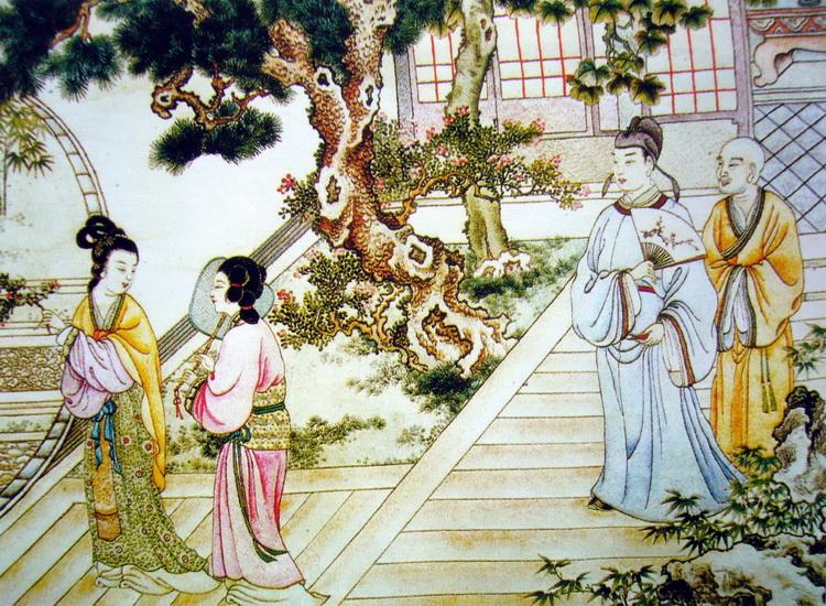 图1 4 5 8 民国·《西厢记》金静芬绣 认识真正的四大名绣:苏绣