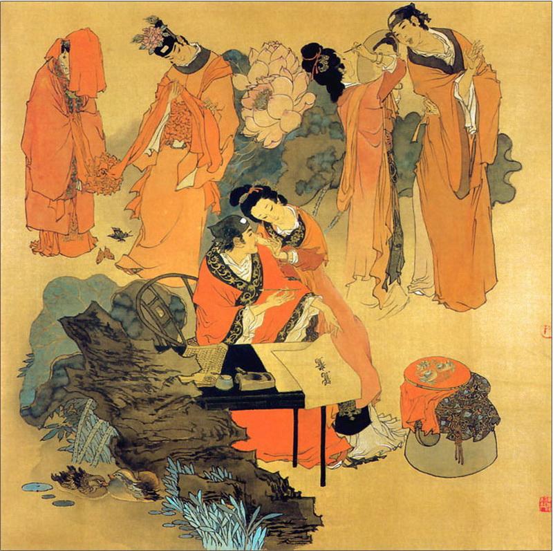 """刺绣与诗文——""""为他人作嫁衣裳""""怎么来的?-芊雅企服"""