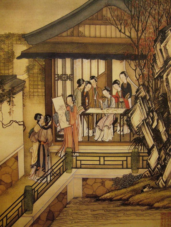 图188 1 绣通于画,可以画理之深浅评之 刺绣与国画——古典审美的文化传承