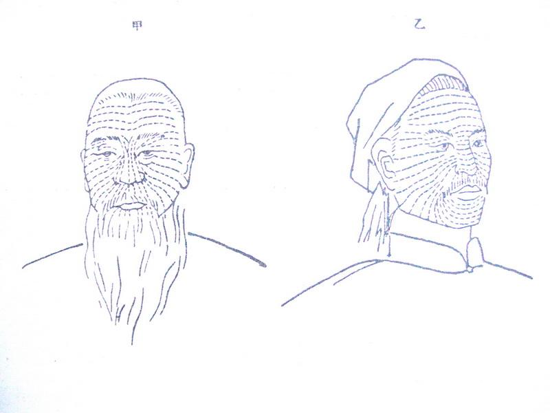 图5 1 1 开脸子针示意图 当代刺绣有哪些创新?
