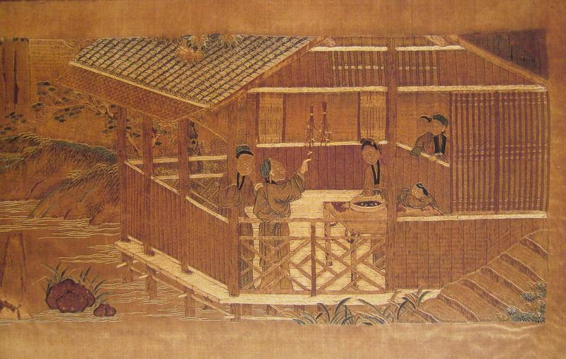 图5 1 16 2 清代双面绣局部(现藏北京故宫博物院) 当代刺绣有哪些创新?
