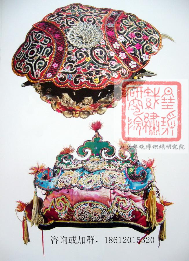 图6 3 1 侗族刺绣童帽 中国少数民族刺绣之侗族刺绣