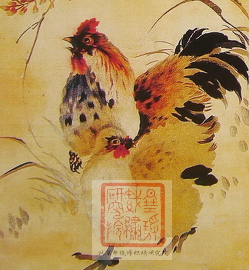 局部 中国历代刺绣名家之薛文华