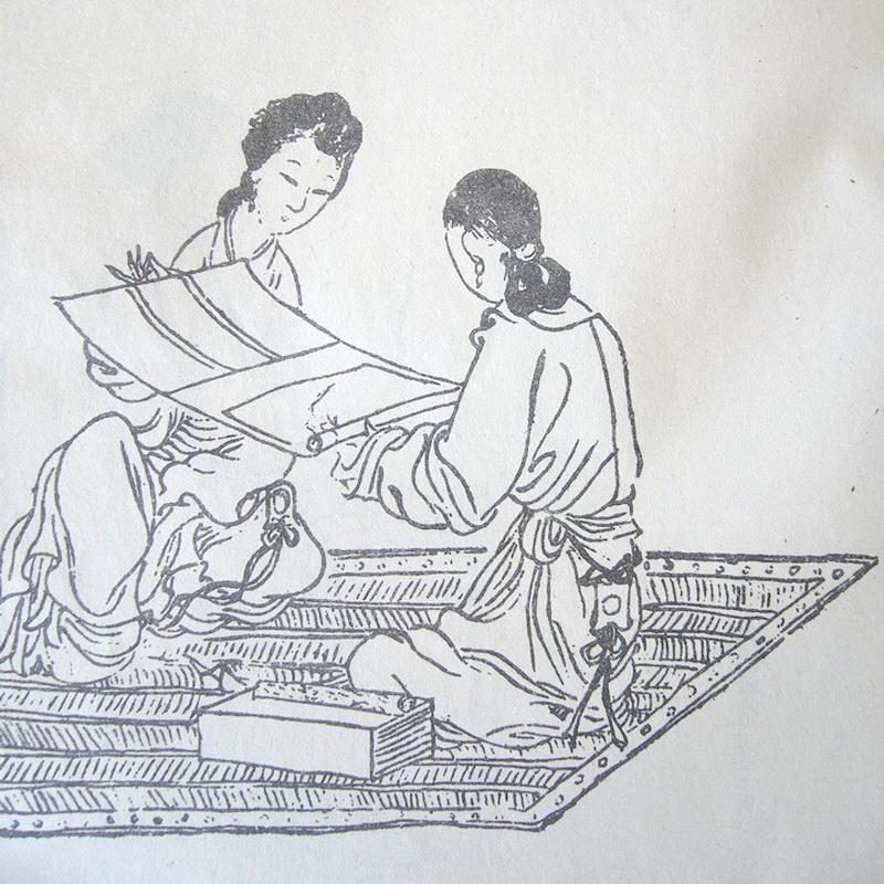 中国历代刺绣名家之李仪徽-芊雅企服