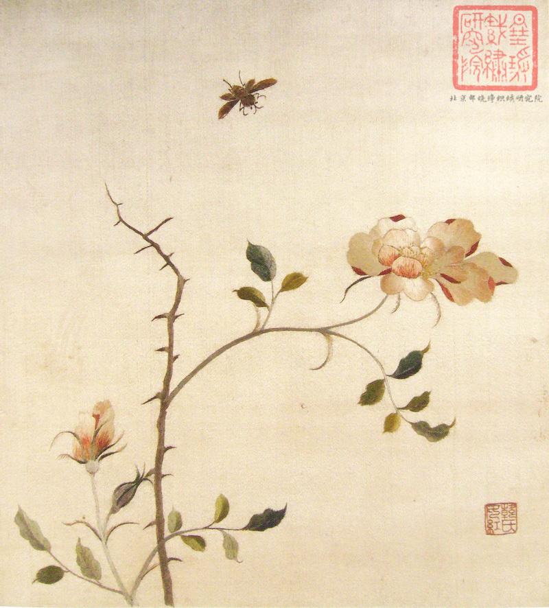 图3 2 当年朱启钤藏顾绣 民国时期中国织绣收藏第一人——朱启钤