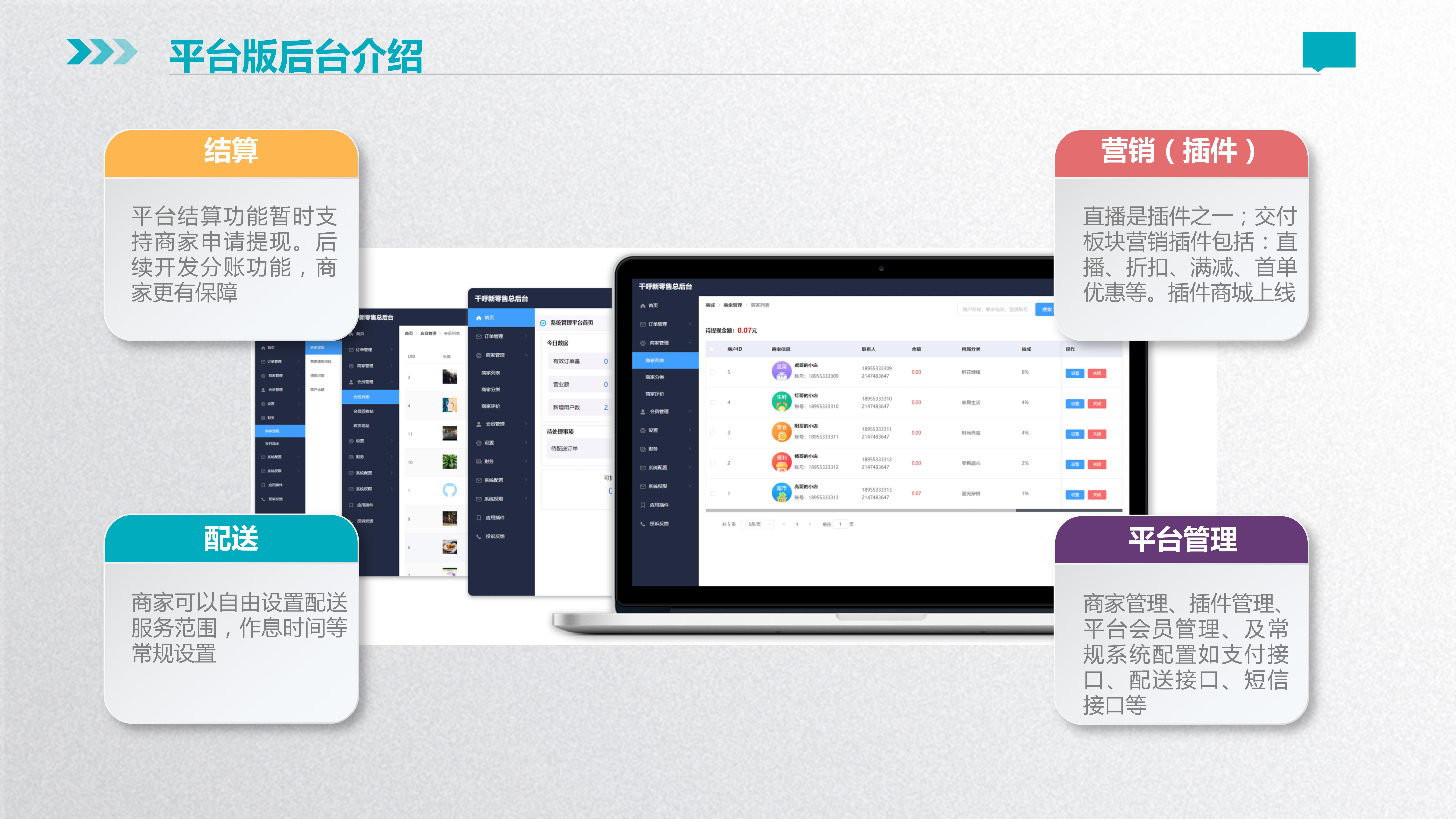 10 平台零售赋能直播系统源码
